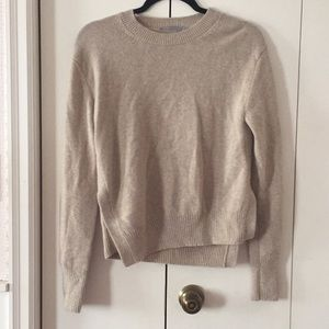 Vince Asymmetrical hem Sweater